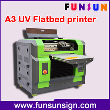 DX5 head A3 size UV digital flatbed multifunctional printer for USB/Glass/pen/CD/Plastics Acrylic printing 1440dpi