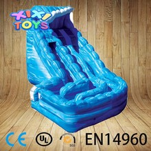 Wave Inflatable Slide, Popular Inflatable Cockscrew Slide, Curve Slide