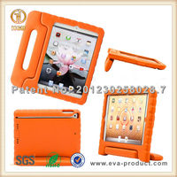 EVA shock resistant dual function handle stand holder case for ipad air