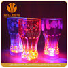 Magic and best selling glittering and translucent led flashing cup