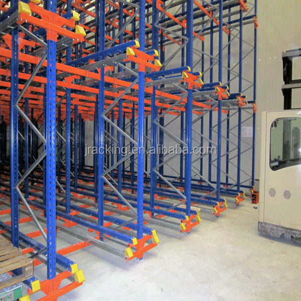 Heavy Duty Space saving Warehouse Storage Shuttle Racking