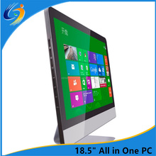 18.5 inch china factory wholesale cheap all in one barebone pc