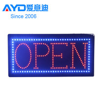 Hot Sale Outdoor LED Screen Board , Acrylic LED <strong>Sign</strong>