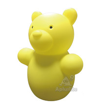 High Quality Bear Shape Decoration Home Furniture LED Battery Operated Color Changing Kids Cordless Table Lamp