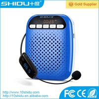 20 meter wireless portable speaker with Hi-Fi double magnetic trumpet and FM stereo radio