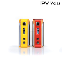 iPV Velas 120Watt box mod Powered by YIHI SX410 Chip Vaporizer with Seven color LED Strip released by Pioneer4you
