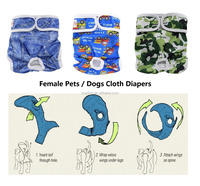 2017 Hot sale Pet products Female dogs cloth diapers