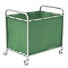 SKH040 Stainless Steel Solid Dirty Linen Trolley