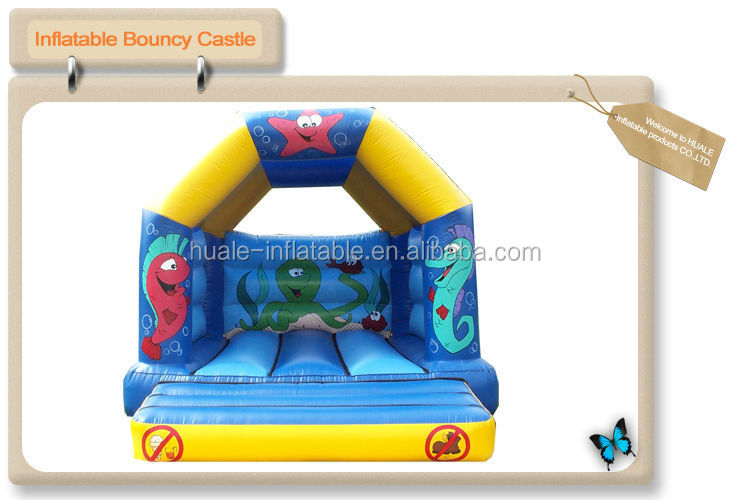 CE PVC commercial inflatable belly bouncer