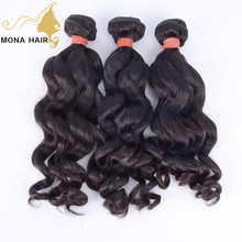 100 peruvian loose wave guangzhou mona hair virgin brandy hair weave