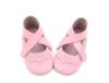 Warm OEM and attractive bow moccasins baby beautiful leather shoes
