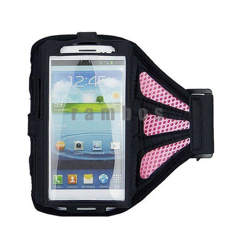 Waterproof Sports Running Armband Case Workout Armband Holder Pouch Cell Mobile Phone Arm Bag Band for HTC M7 M8 for Sony Z L36h