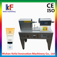 Ultrasonic tube sealer with cutter