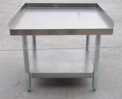 stainless steel work table - kitchen table - stainless steel table