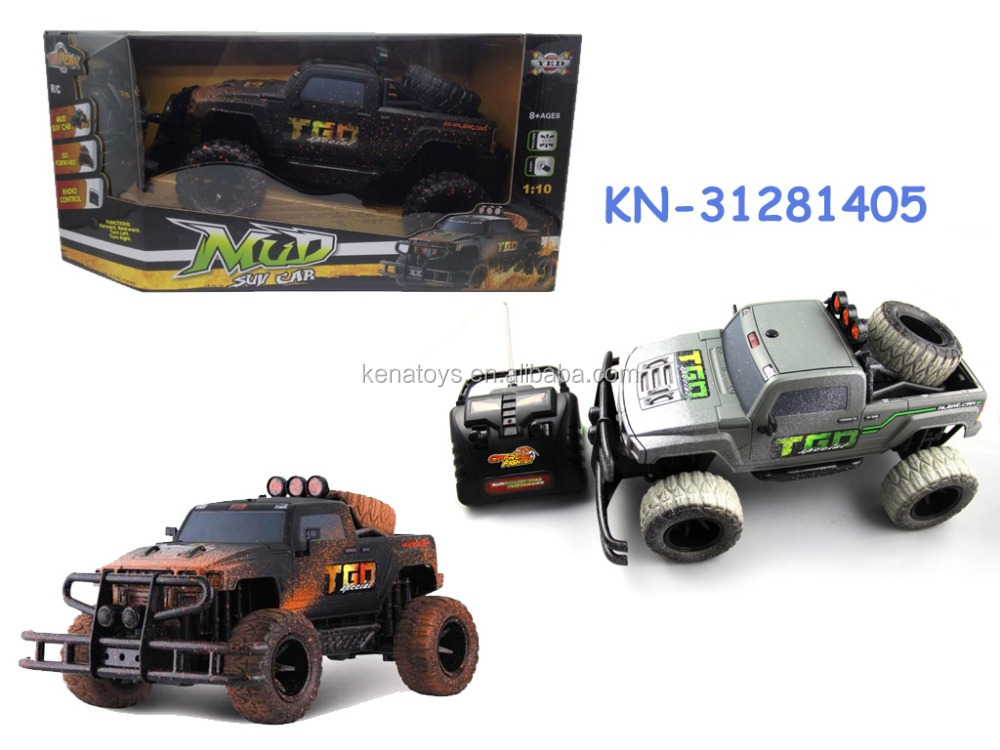 product gs  newest remote control rc car wd jeep mud truck toy