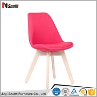 High Quality Leisure Dining Room Fabric Chair Without Arm