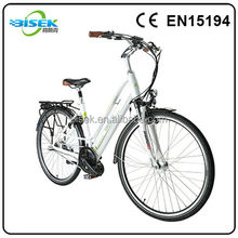 Convenient and protucting environment electric bicycle with two wheels