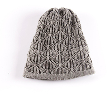 High quality fashion new design knit hat free pattern