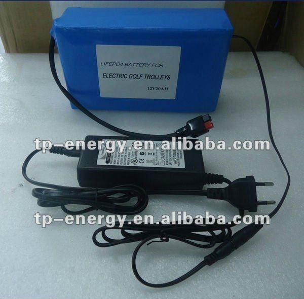 OEM factory!!! Electric Golf Trolley Lithium Battery 12V rechargeable