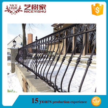 Wrought Iron Fence with Forged Spears,Fence with Good Price and Quality and Surface Treatment,fence panel
