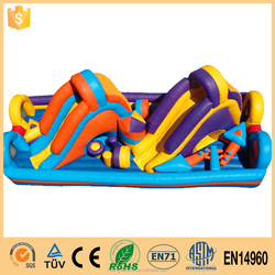 Gold Supplier Giant Inflatable Obstacle Made In China