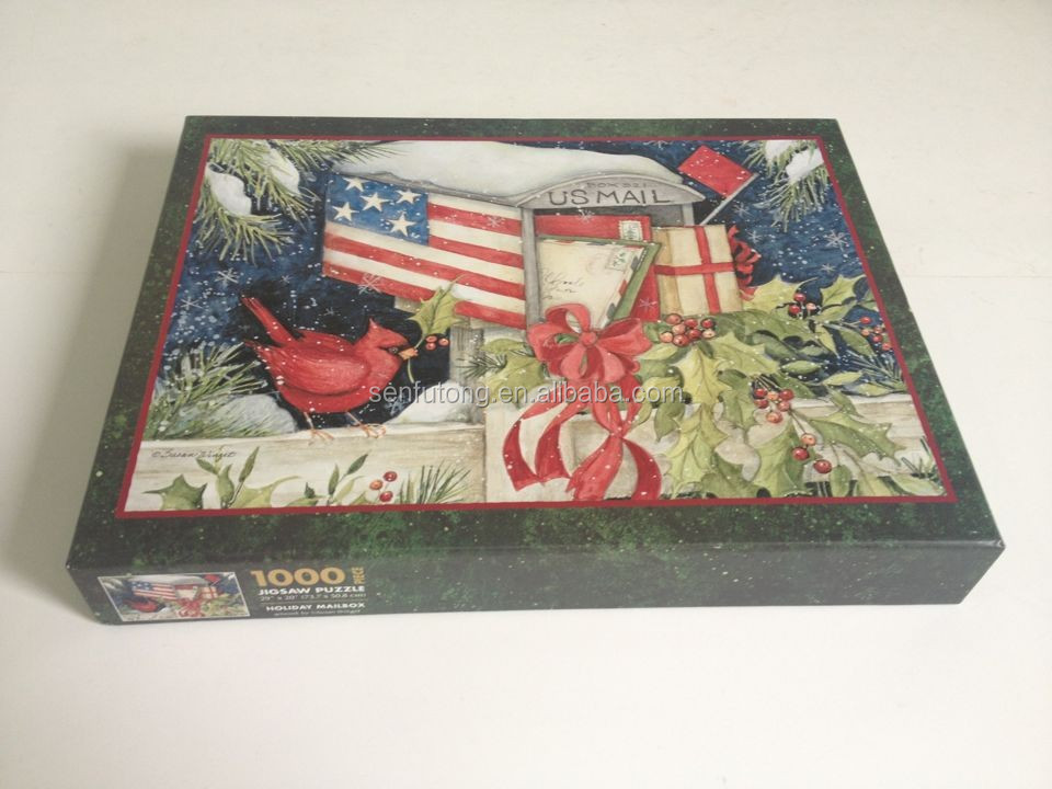 OEM Quality 1000PC Paper Jigsaw Puzzle / OEM Manufacturer with more than 18 years' experience