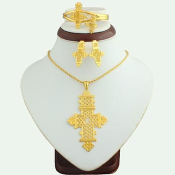 Replica Jewelry SetLuxury Womens 18k Gold Jewelry Half Set Buy