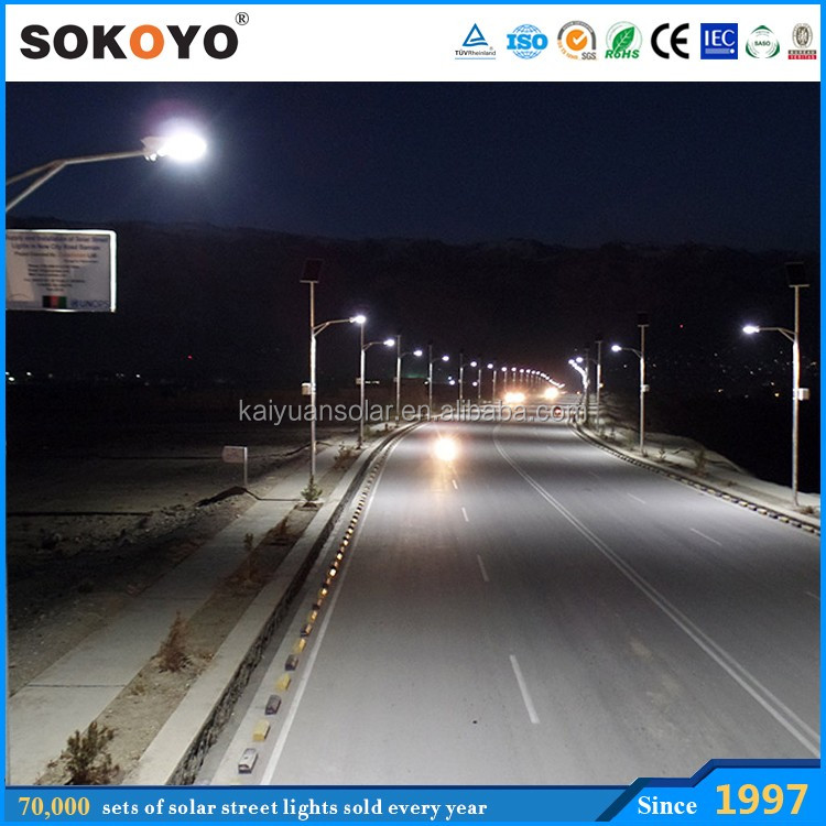 intelligent lighting control system monocrystalline silicon 100w solar led light outdoor