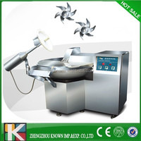 factory price stainless steel automatic meat bowl cutter /cut mixer