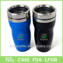 16OZ double wall plastic thermal travel cups