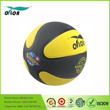 Wholesale rubber rainbow basketball