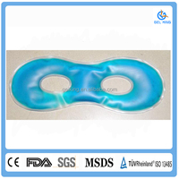 Cold and hot therapy freezer gel eye mask/eye patch