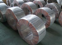 high carbon galvanized steel roping wire with zinc coating