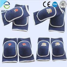 2015 new fashion dress children warm knee pad for football