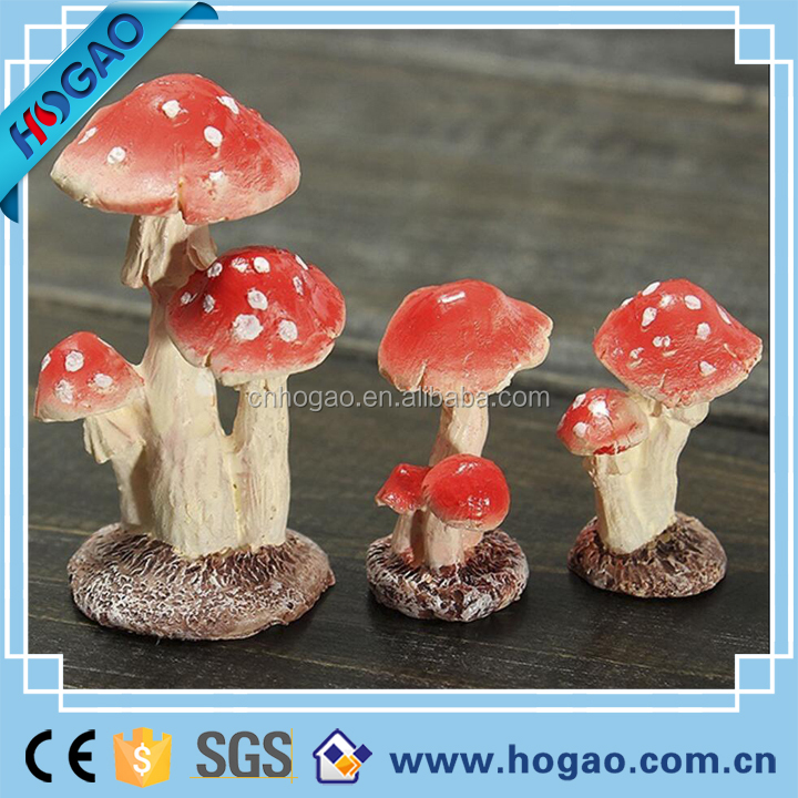 Miniature Dollhouse Fairy Garden Resin Mushroom Toadstool Frog Bird Fantasy Gift