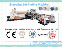 Plastic PP/BOPP/ PET/PE film touch screen protetive film,alimunium foil, paper coating Laminating machine