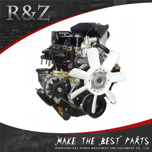 High performance water cooled 4-cylinder mini diesel engine