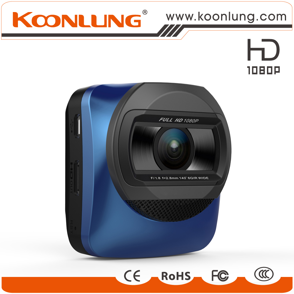 New premium 140 Degree HD 1080pcar dvr / car camera / dash camera with night vision