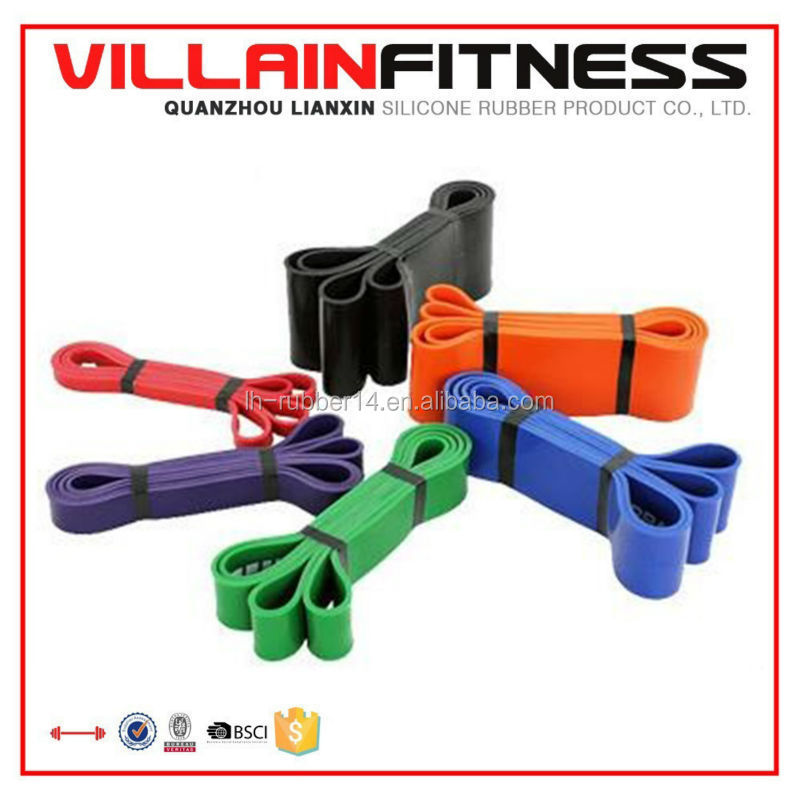 Latex Exercise Fitness Resistance Bands,Cross-Fit Pull-up Stretching Flex Resistance Band