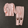 fall autumn child clothes girls casual clothes suit jacket and pants set for kids
