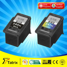 11 years gold supplier compitible ink cartridge for canon 540 541