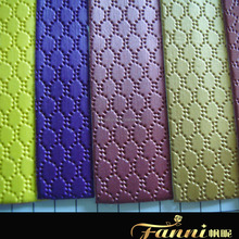 packing material pu leather/ pu artificial leather for gift boxes/pu faux leather for notebooks