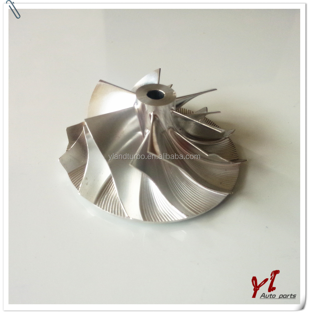 Turbo RHB3 RHB5 Billet Compressor Wheel impeller blade NB135102 NN136614 NN136512 Fit turbo/chra CY26 VZ9 VA59B