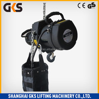 CE GE ISO approved high quality product:electric chain hoist