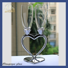 Lovely gift heart shaped mug, heart handle mug for wedding wine glass