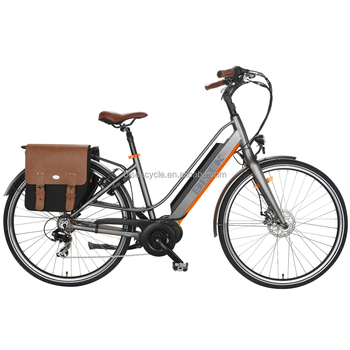 "26"" city electric bike with bafang mid drive motor"