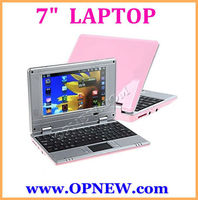"NEW Dual Core 7"" Android 4.4 WM8880 1.2GHz Netbook Cheap Laptop Computer Notebook Camera OPNEW 6 Colors in STOCK now"