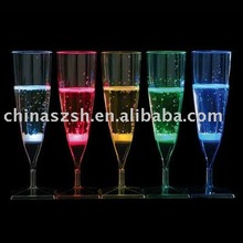 LED flashing champagne cup