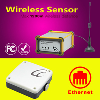 Radio Wave 64 Wireless Sensors co2 controller gsm thermometer data logger wireless flow water meters sensor