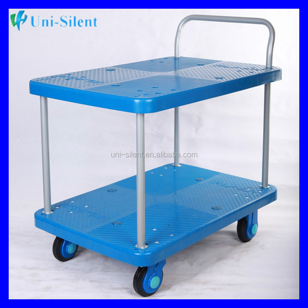 Heavy Duty Flat Bed Logistic Carry Goods Go Cart PLA300-T2